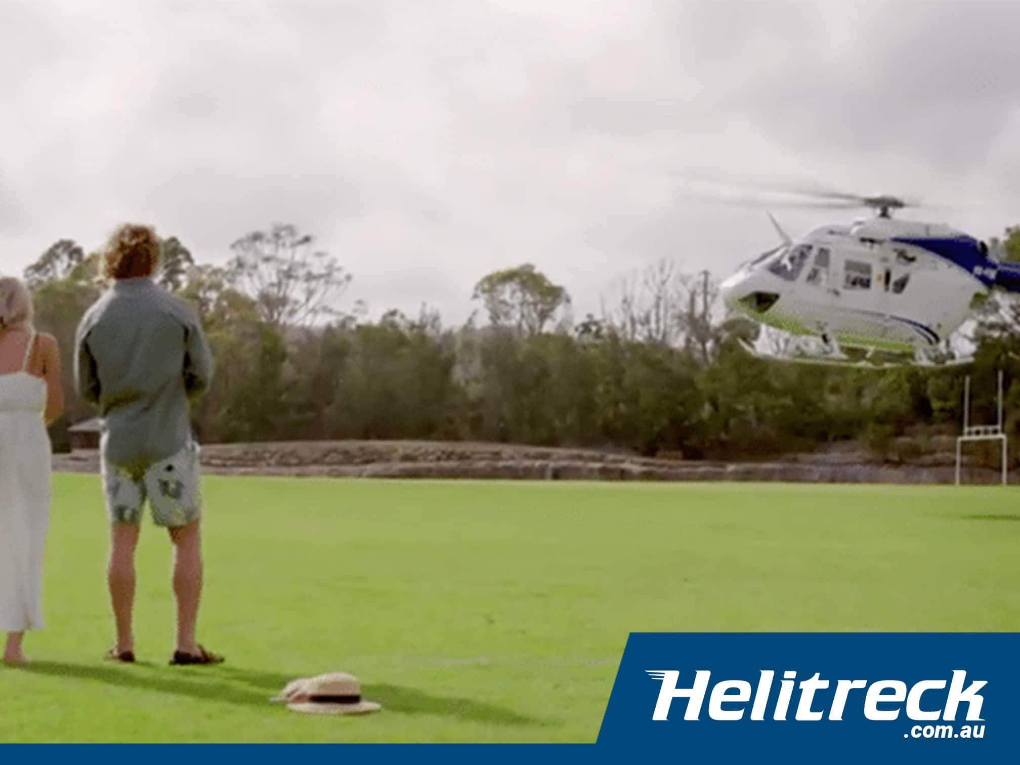 helitreck the bachelor sydney helicopter tv show