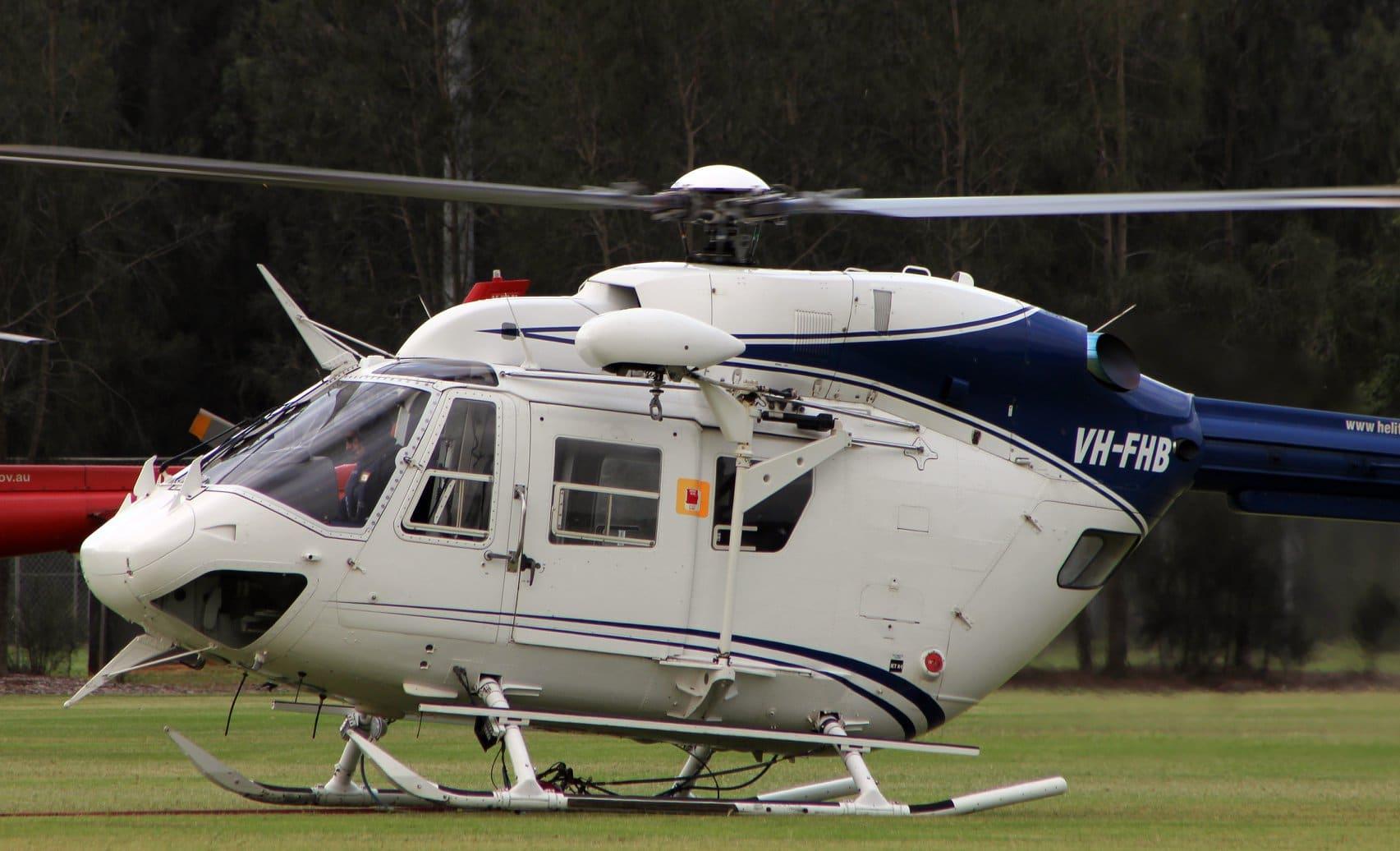 Helitreck VH-FHB BK117 Helicopter 2