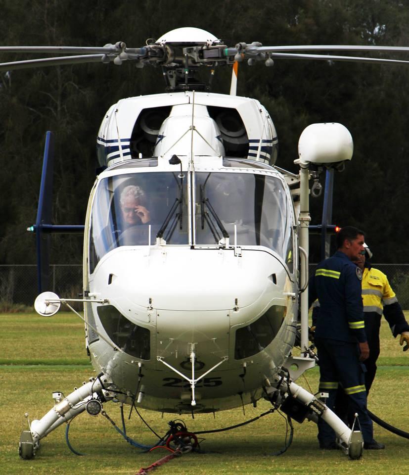 Helitreck VH-FHB BK117 Helicopter 3