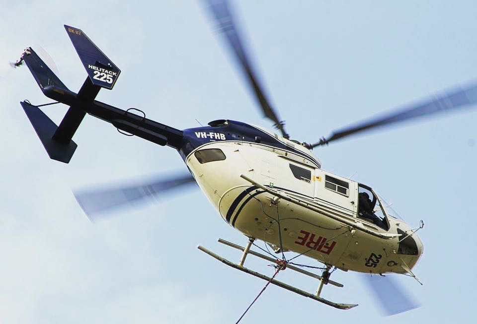 Helitreck VH-FHB BK117 Helicopter 4