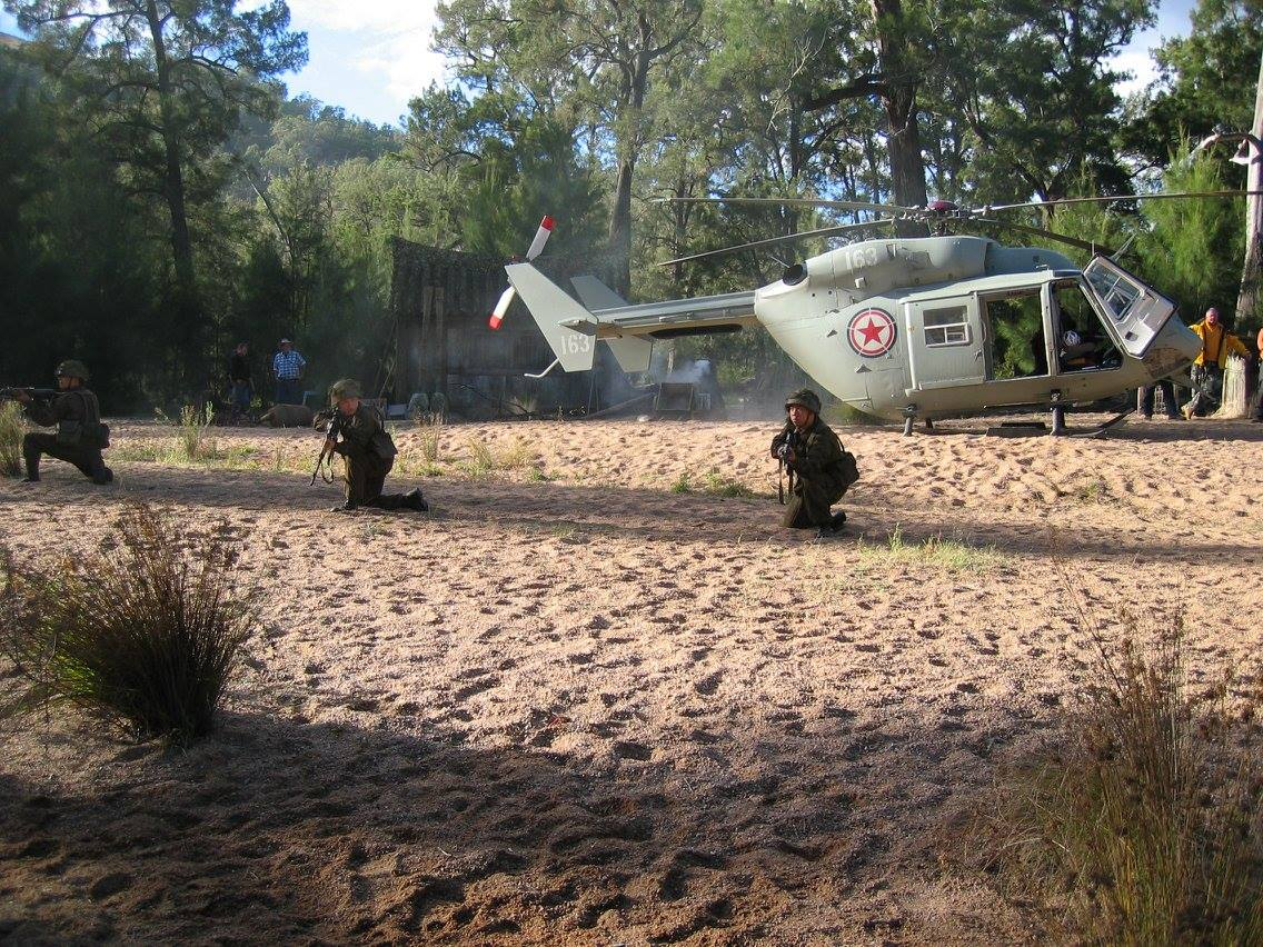 Helitreck VH-FHB BK117 Helicopter Film Work 3