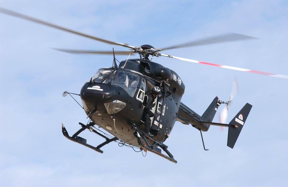 Helitreck VH-FHF BK117 Helicopter Film Work 1