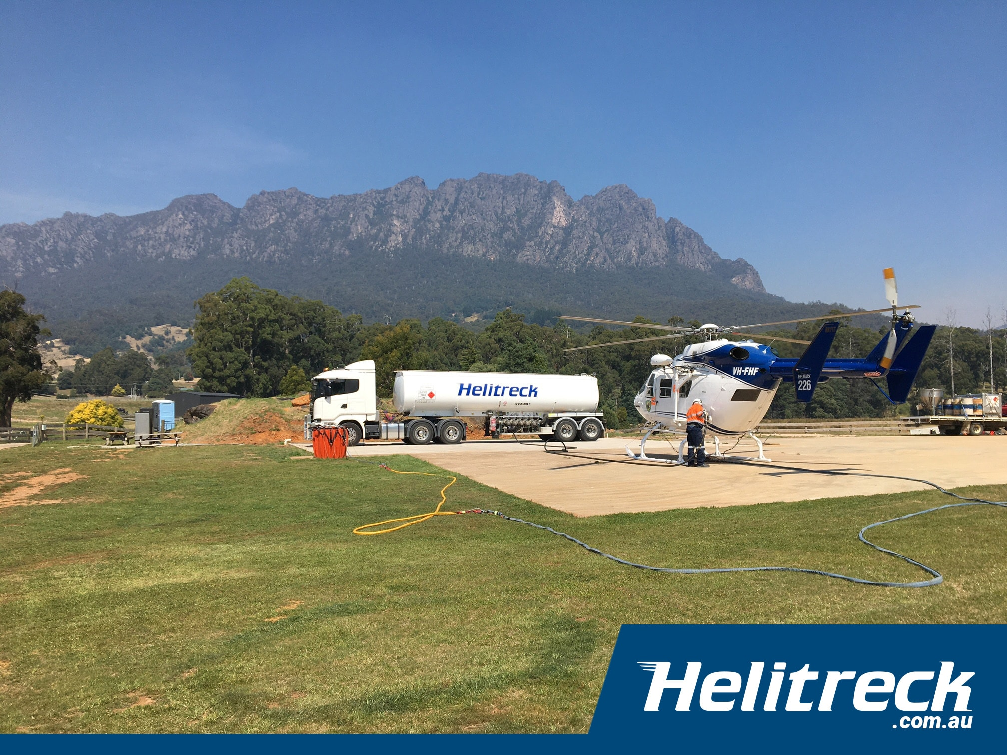 helitreck tasmania helicopter hire