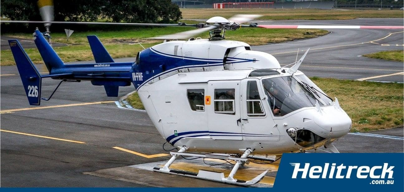 Helicopter BK117 B2 VH FHF