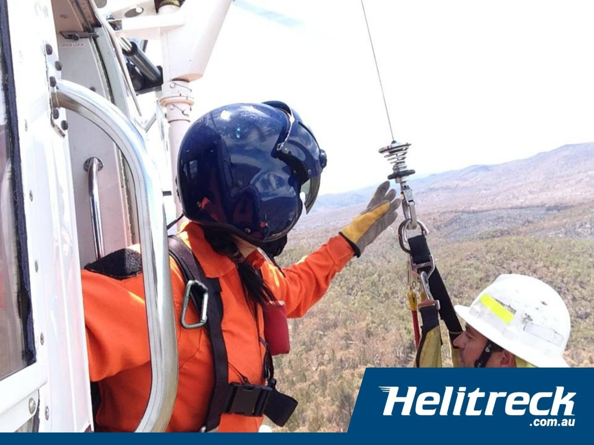 Helicopter Winching Helitreck