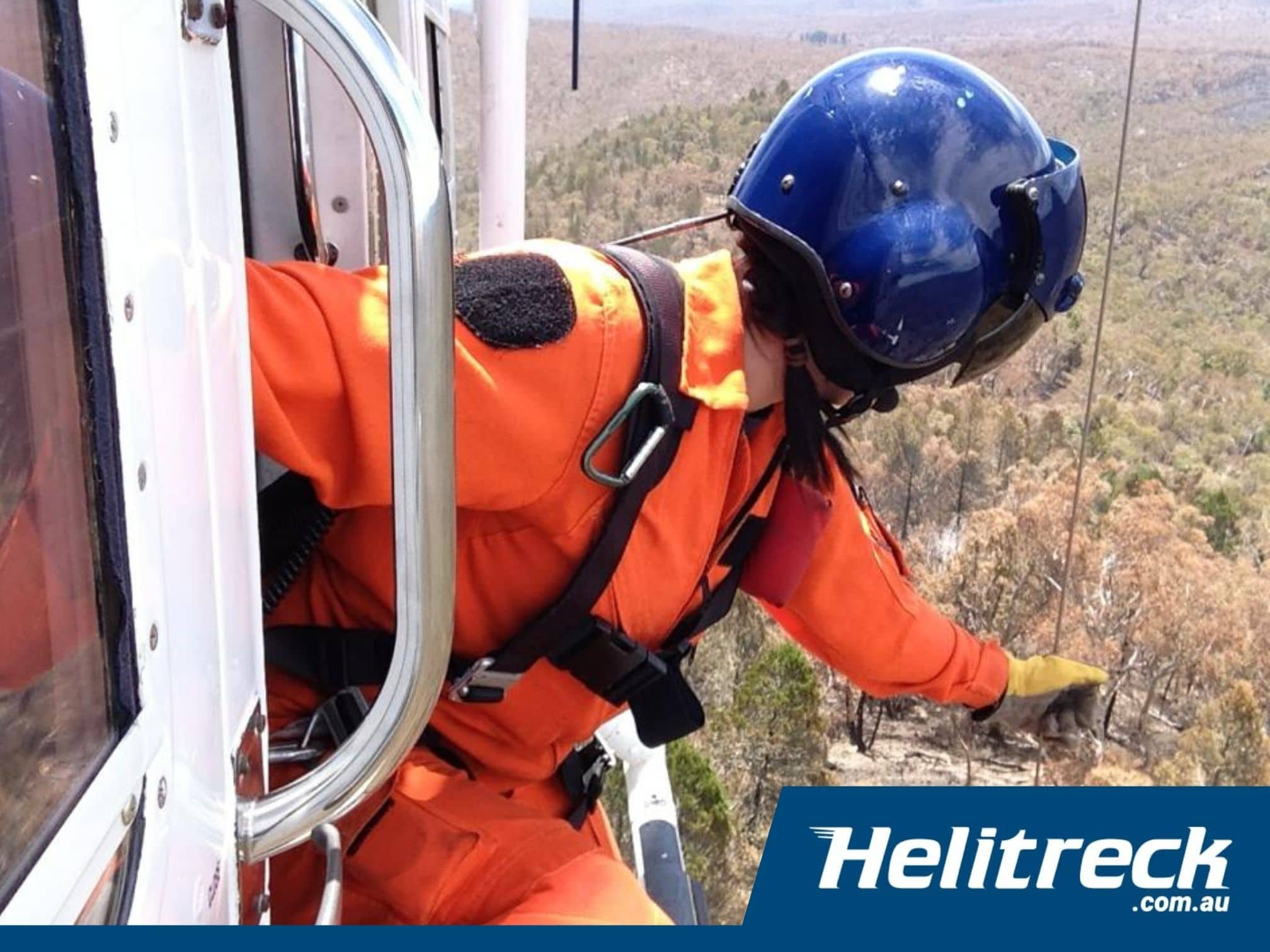 Helicopter Winching Helitreck 5