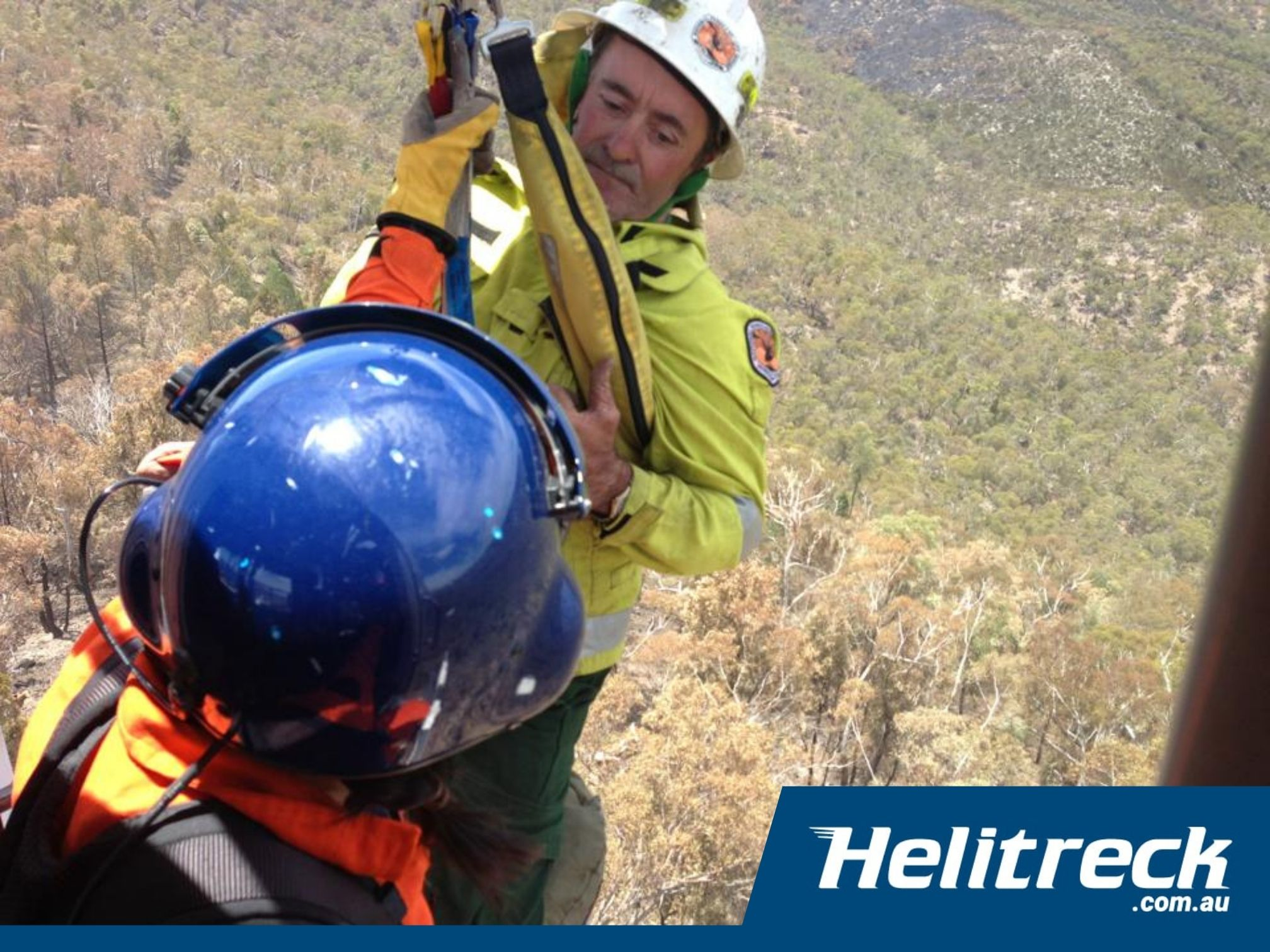 Helicopter Winching Helitreck7