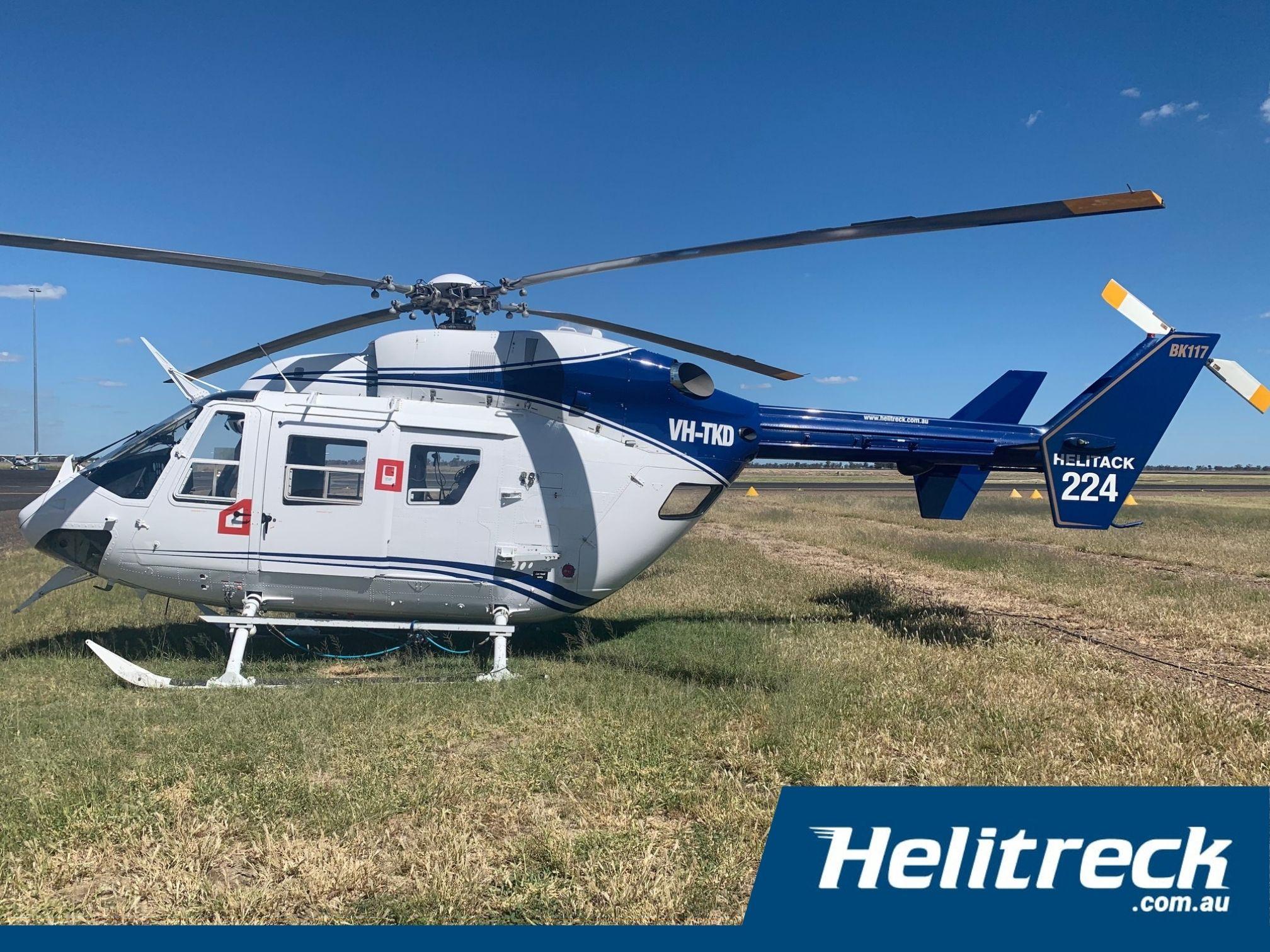 Helitreck-BK117-B2-VH-TKD