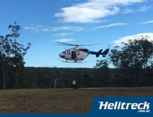 Helicopter Winch Training for the RFS – Glenbrook 2021