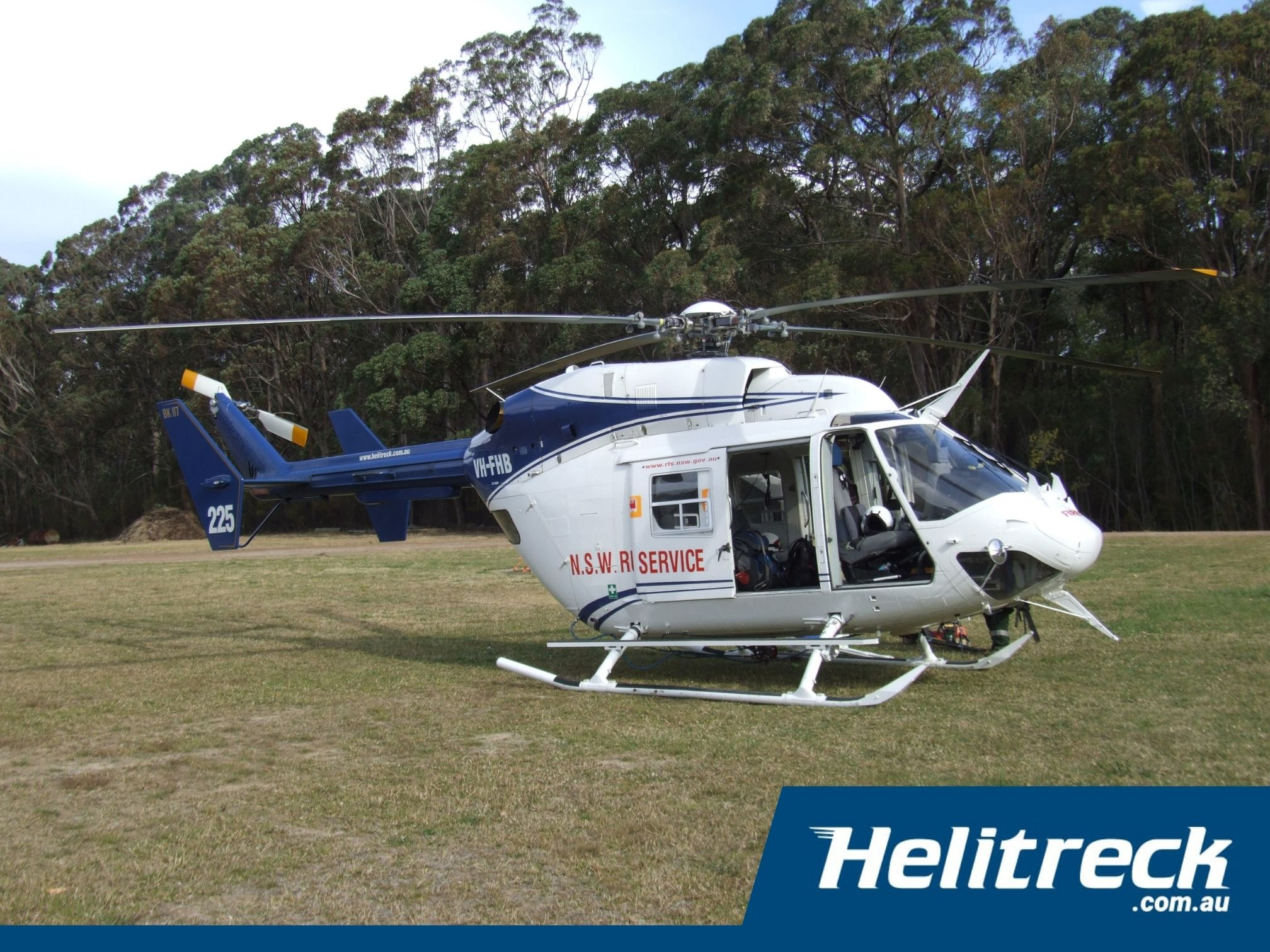 Helicopter-BK117-B2-VH-FHB