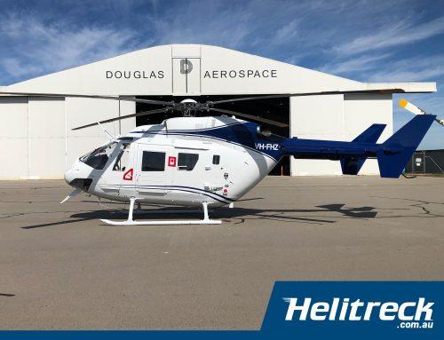 Helitreck Helicopter VH-FHZGets a Facelift