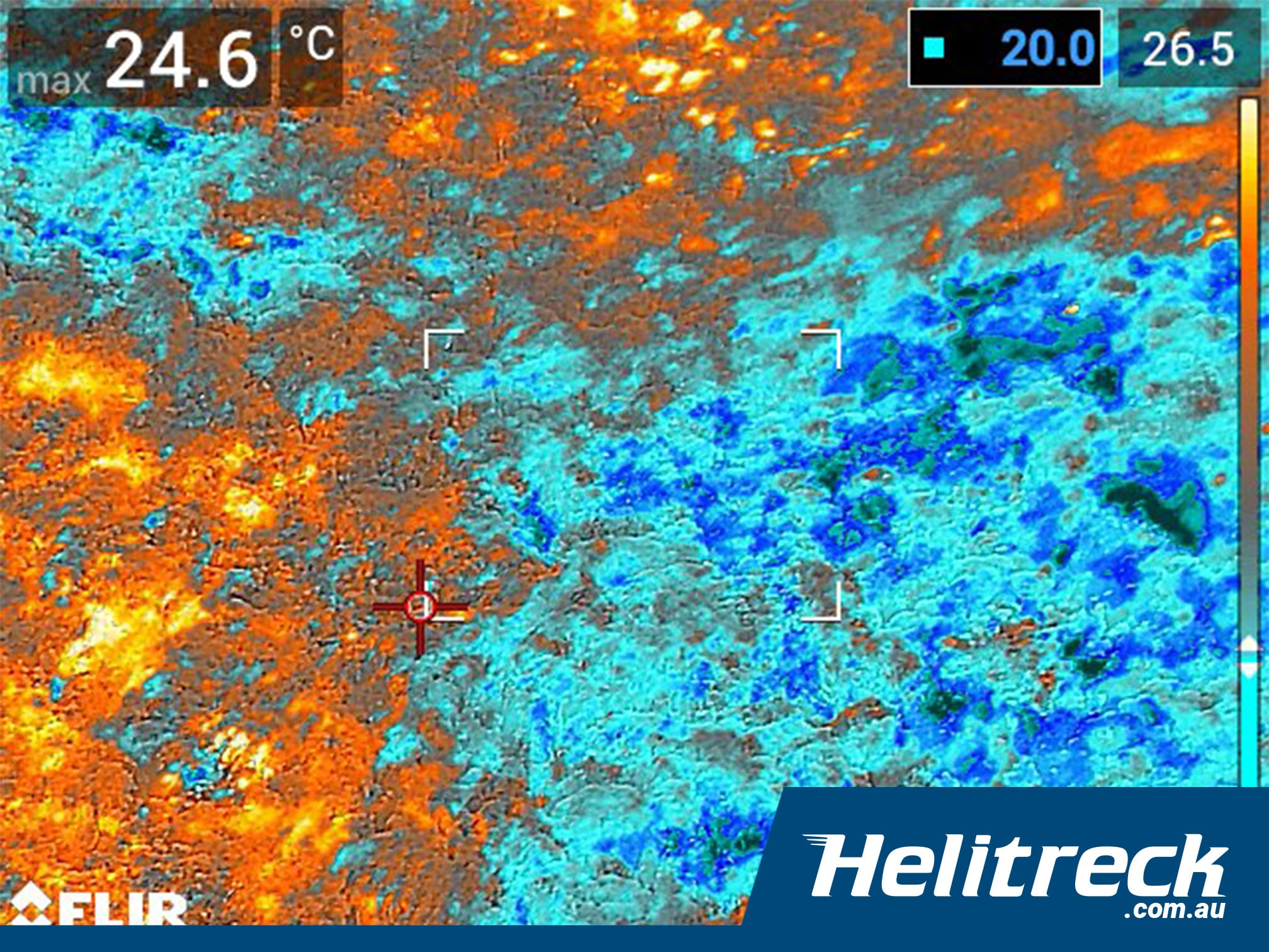 helitreck thermal imagery